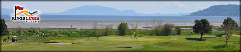 BC KingsLinks golf course for corporate clinic, on course lesson with a PGA coach instructor