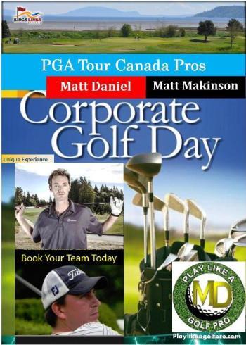 corporate golf clinic
