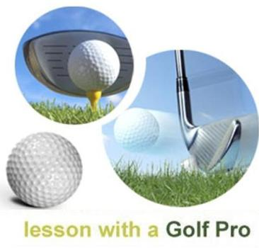 Lesson with a Golf Pro Matt Daniel 高尔夫PGA 教练老师